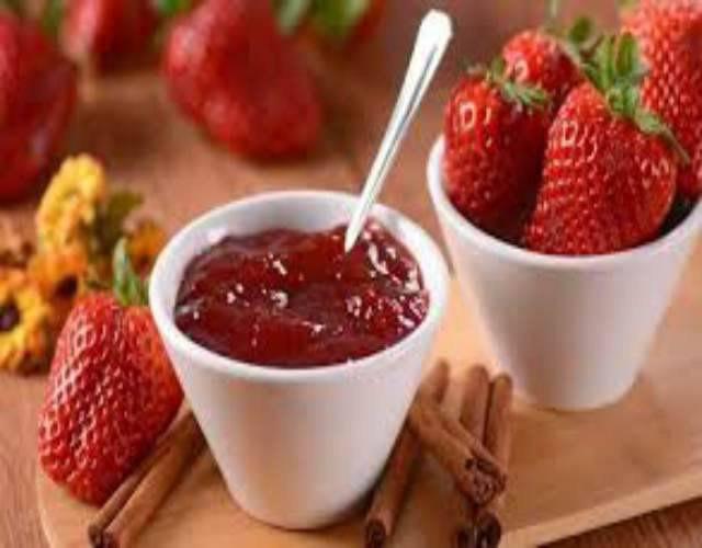 Bizcocho de yogur de fresa