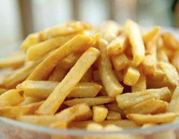 Patatas fritas belgas