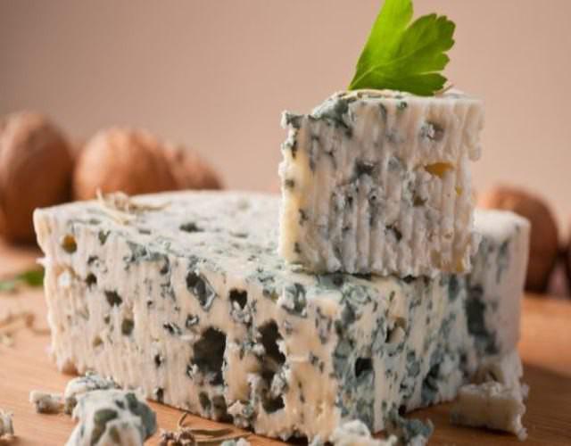 Receta de Setas con queso azul