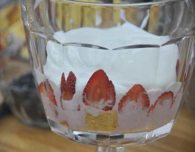 Trifle de Fresas