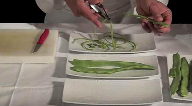 Judías verdes con patatas y zanahoria