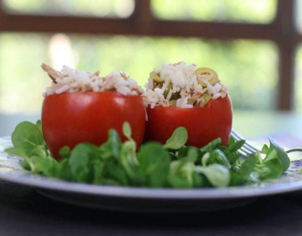 Receta de Tomates rellenos de arroz