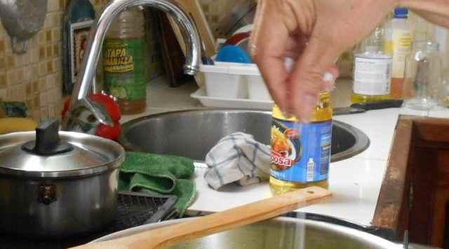 Dorada en salsa de almendras