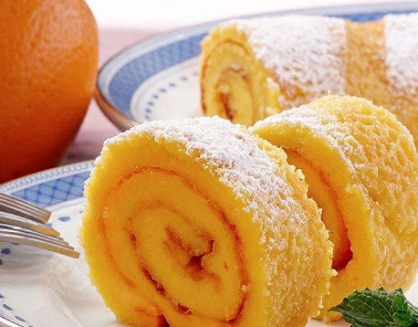 Brazo gitano de naranja