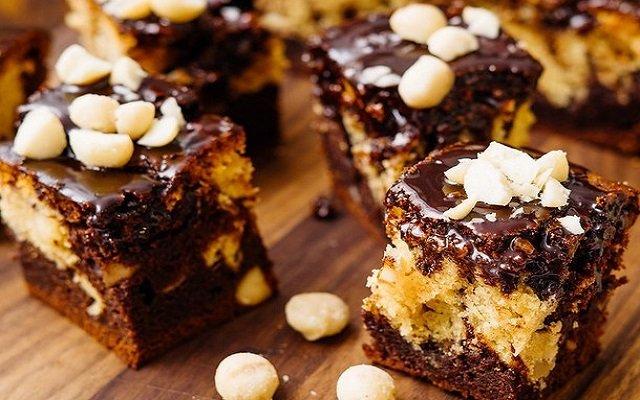 Brownie dos chocolates
