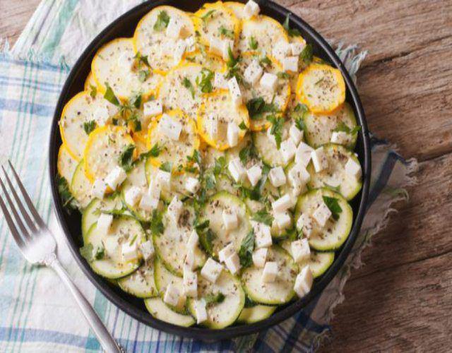 Receta de Calabacines al limón
