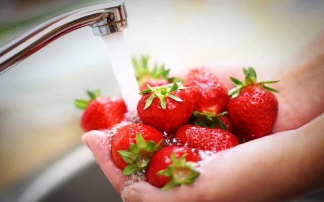 Brazo de gitano de nata y fresas