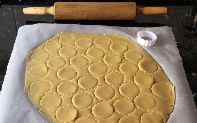 Galletas de queso parmesano