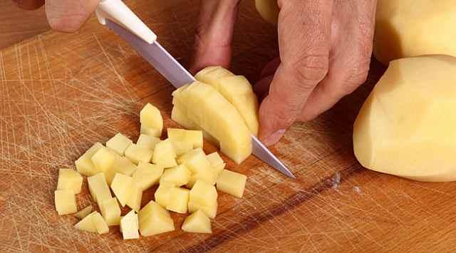 Judías verdes con patatas