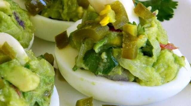 Huevos Rellenos de Verduras