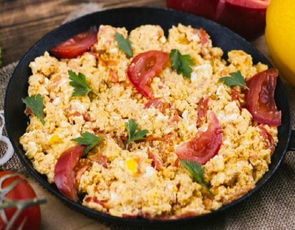Receta De Huevos Revueltos Con Tomate