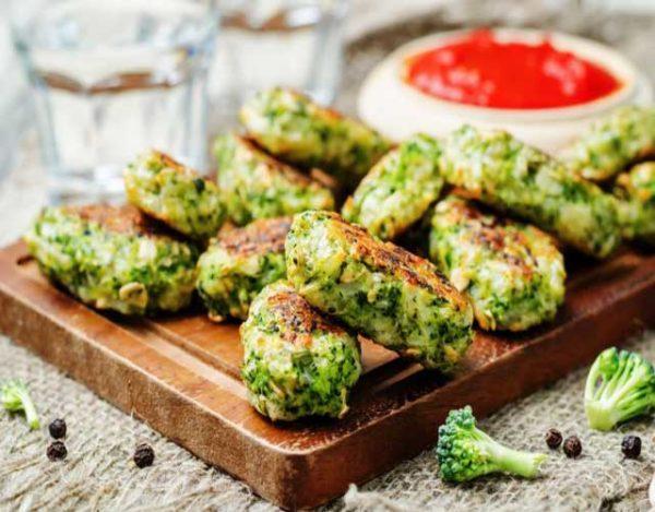 Bolitas de brócoli y queso