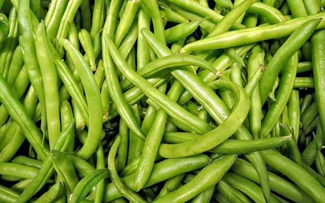 Judías verdes con chorizo