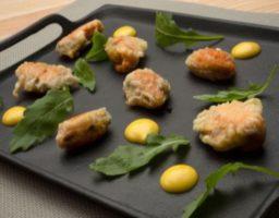Receta de Mejillones en tempura