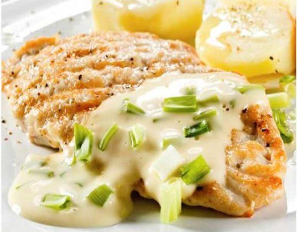 Pechugas de pollo al queso