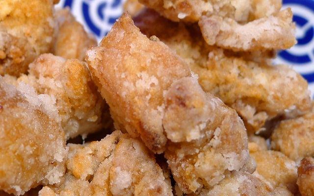 Pollo frito japonés o karaage