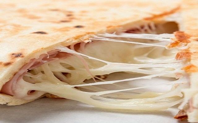 Quesadilla de jamón y queso
