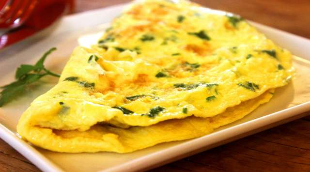 Tortilla de Salmón y Espinacas