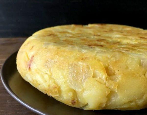 Receta de Tortilla de patata con Setas