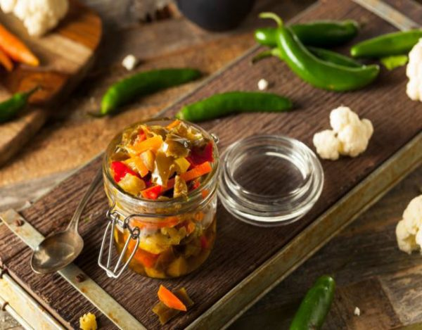 Verduras de escabeche