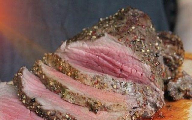 Carne asada en salsa
