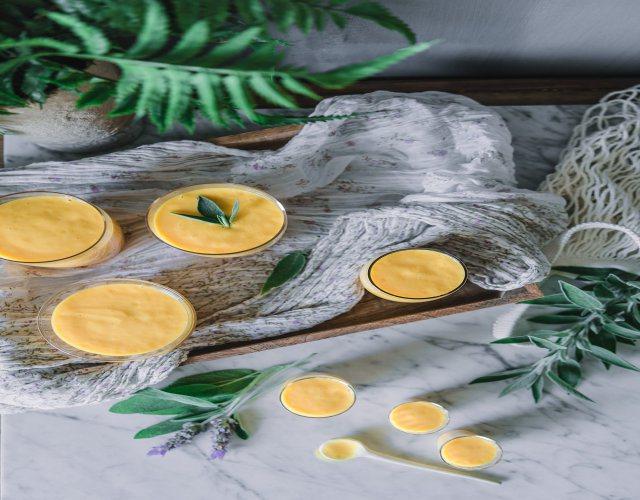 Receta de Crema fría de mango