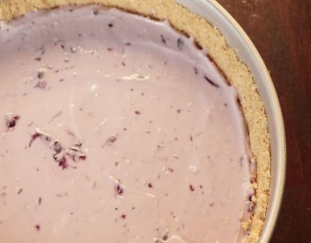 Receta Cheesecakes de arándanos