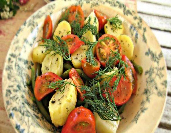 Ensalada de Patatas Veganas