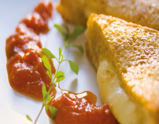 Receta de Mozzarella carroza
