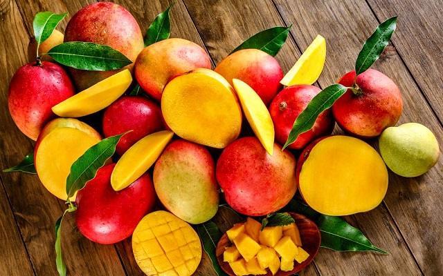 Salmón en salsa de mango