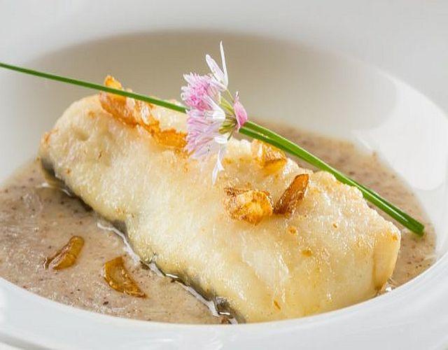 Merluza con salsa de soja