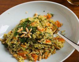 Quinoa con calabacín