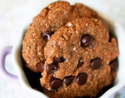 Receta de Galletas de quinoa y chocolate