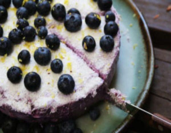 Receta de Cheesecakes de arándanos