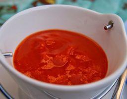 Salsa dulce de pimientos