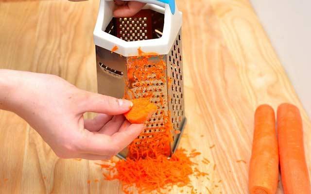 Ensalada de repollo y zanahoria