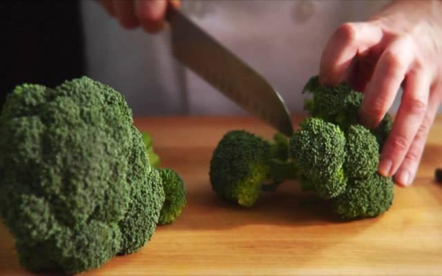 Arroz con brócoli y pollo