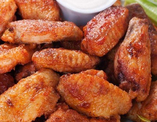 Alas de pollo al horno