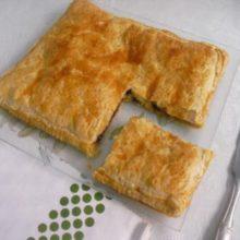 Receta de Empanada morcilla y pera