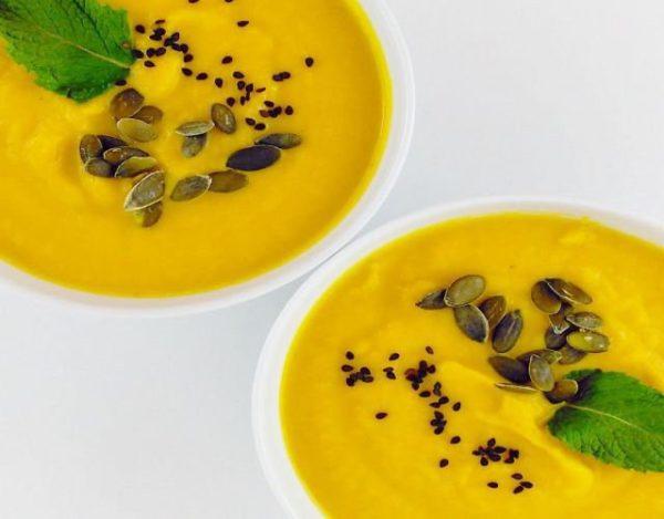Receta de Sopa fria de puerros y zanahoria