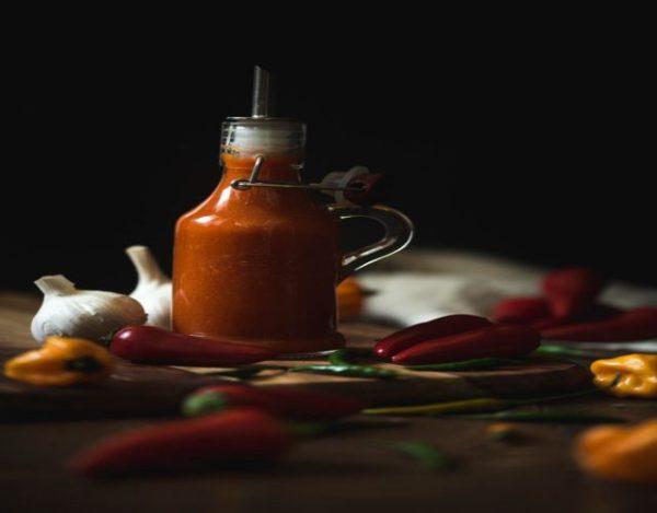 Receta de Salsa sriracha casera
