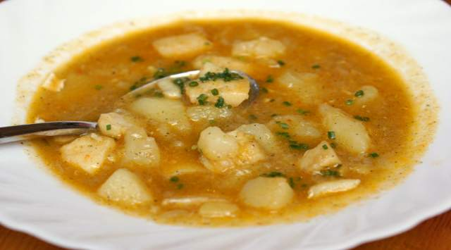 Sopa de Patatas Extremeña