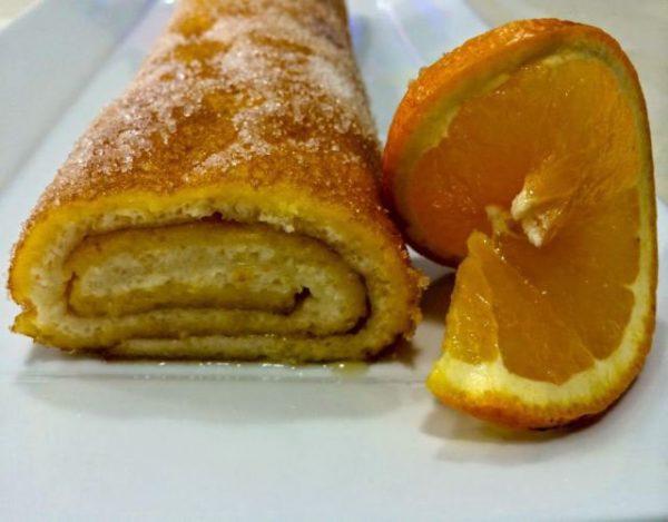 Receta de Torta de naranja portuguesa