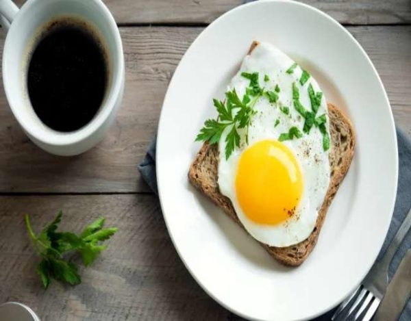 Huevo Frito al Microondas