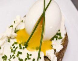 Receta de Huevos Mollet