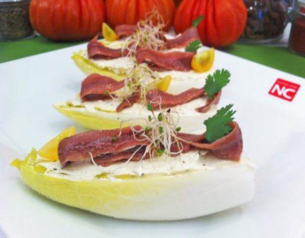 Receta de Ensalada de endivias con anchoas