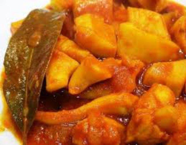 Receta de Sepia estofada con tomate