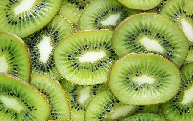 Sorbete de kiwi