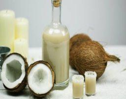 Licor de coco casero