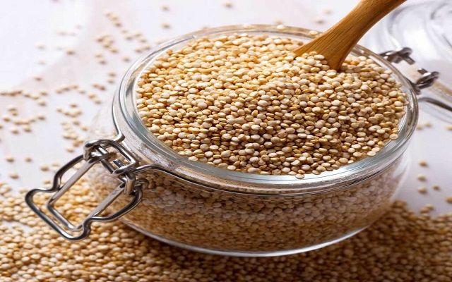 Postre de quinoa con leche